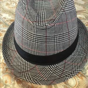 Other - Kids large Fedora hat houndstooth